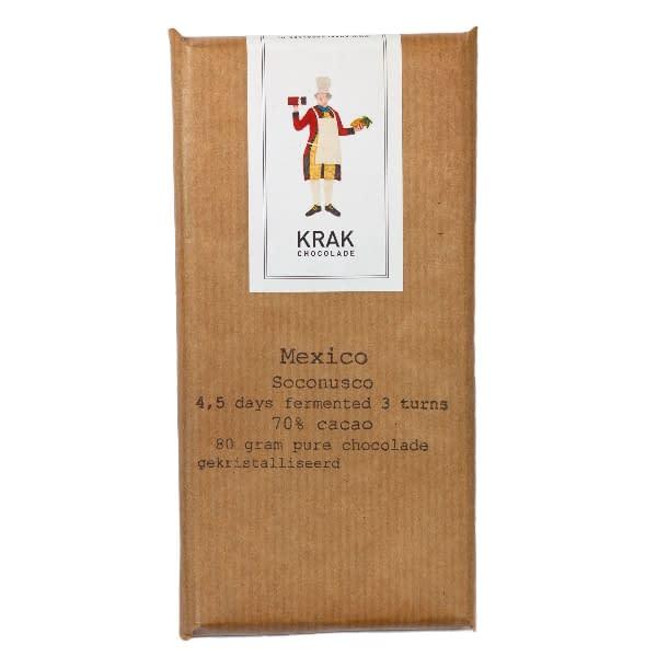 Krak Chocolade - Socunosco, Mexico 4.5 & 5.5 Day Fermentation Bar Duo