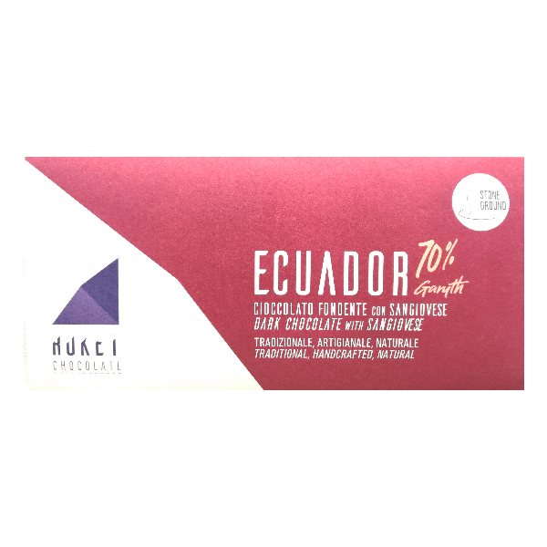 Ruket - Ecuador Dark 72% Chocolate with Sangiovese Infusion
