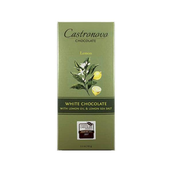 Castronovo - White Chocolate with Lemon Oil & Sea Salt