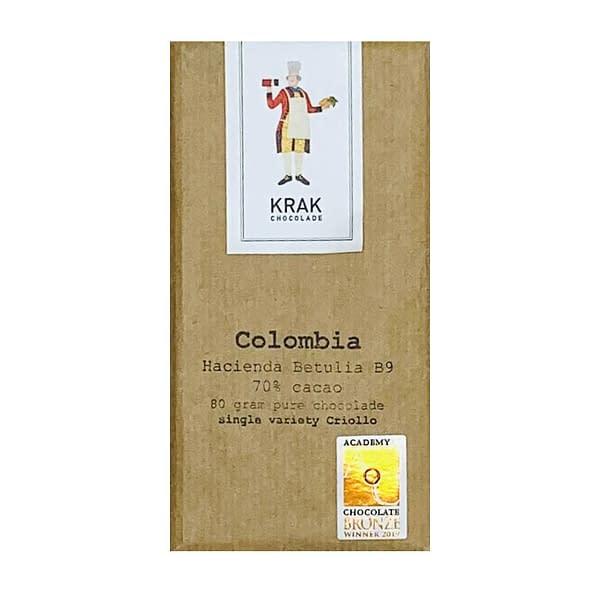 Krak Chocolade - Betulia B9, Colombia 70% Dark