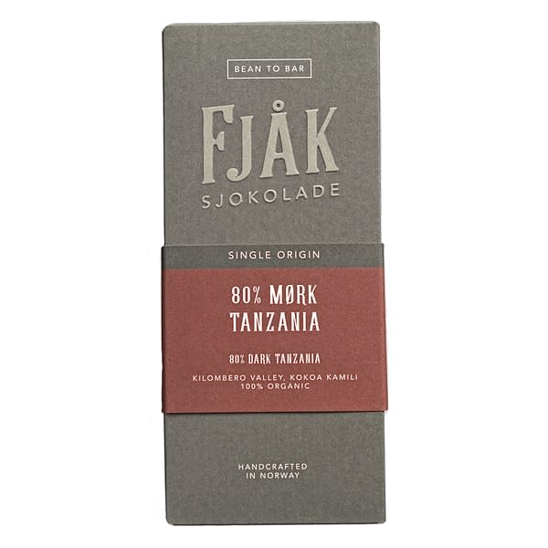 Fjak -  Kokoa Kamili, Tanzania 80% Dark