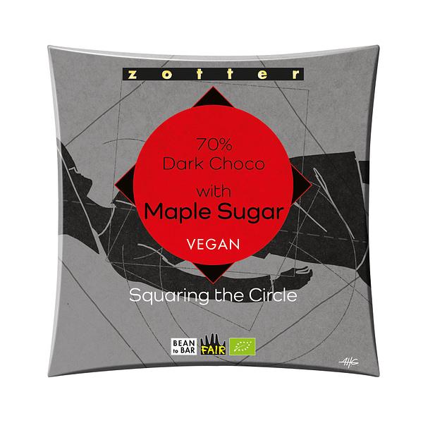 Zotter - Pangoa, Peru 70% with Maple Sugar