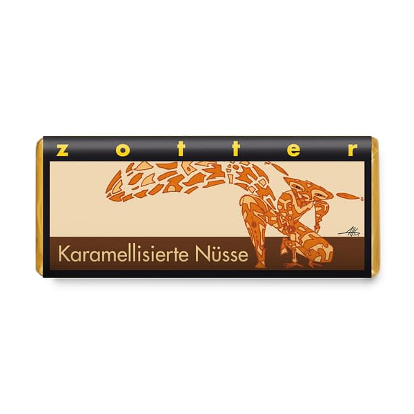 Zotter - Caramelised Nuts Bar