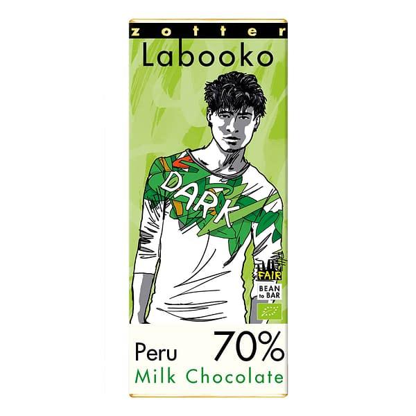 Zotter - Peru 70% Dark Milk