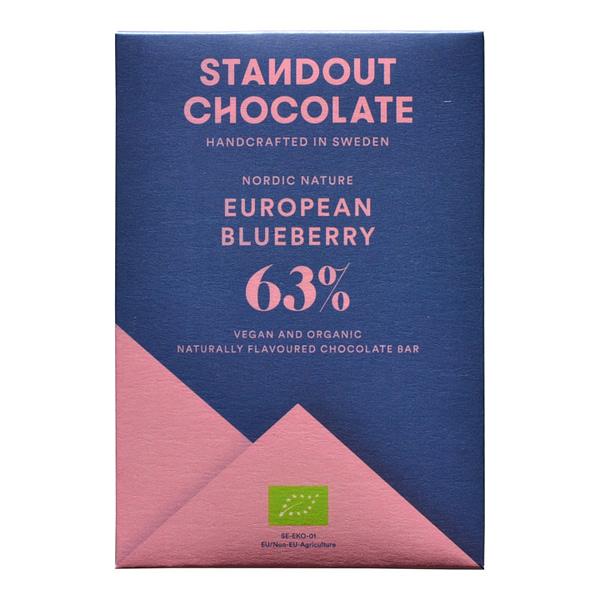 "Standout - ""Nordic Nature"" Blueberry 63% Dark"
