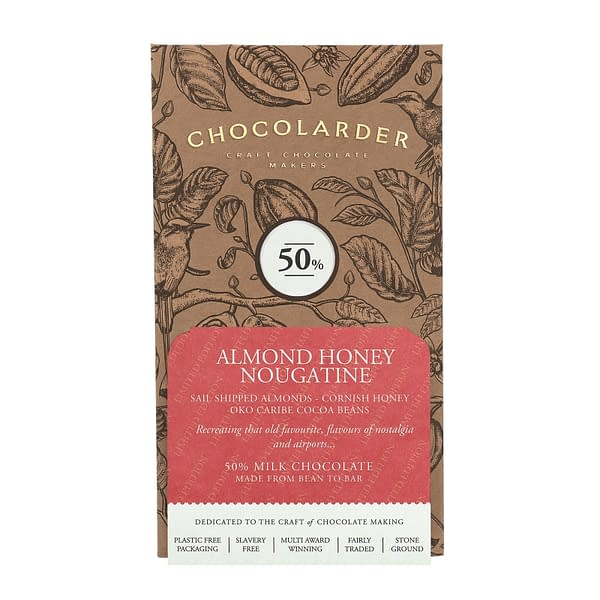 Chocolarder - Almond Honey Nougatine 50% Milk