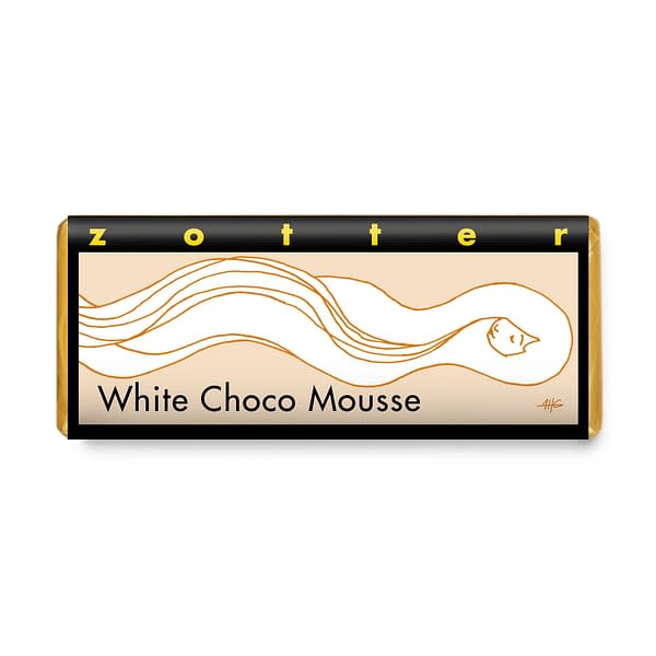 Zotter - White Chocolate Mousse