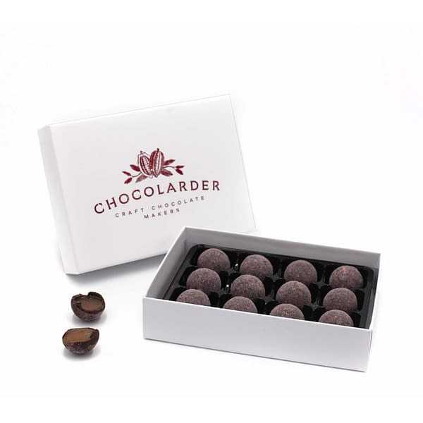Chocolarder - Strawberry & Elderflower Truffles