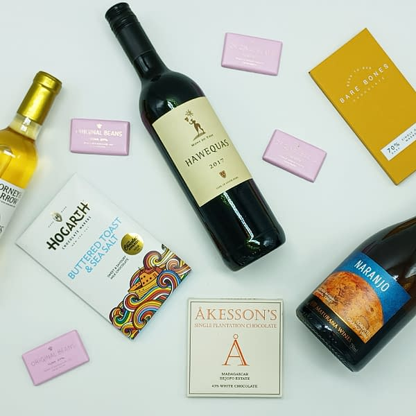 Corney and Barrow - Wine and Chocolate Tasting Kit