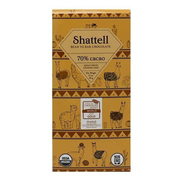 Shattell - Chuncho, Peru 70% Dark