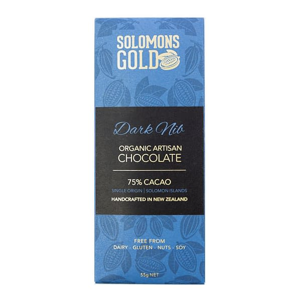 Solomons Gold - 75% Dark with Nibs