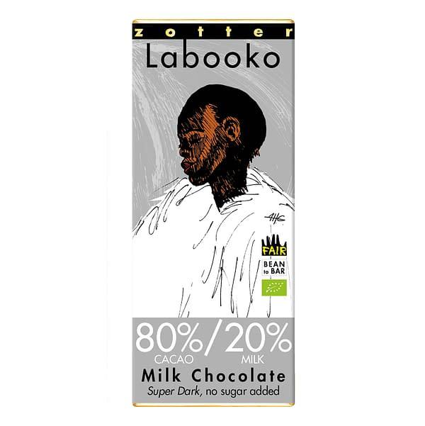 Zotter - 80/20 Dark Style Milk Chocolate