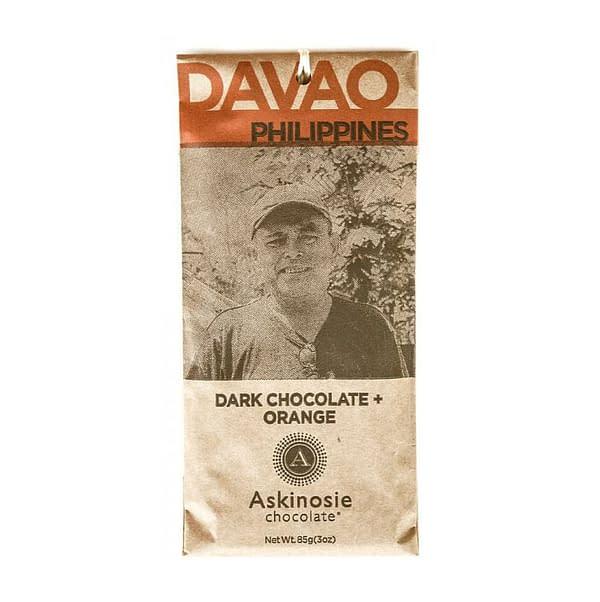 Askinosie - Davao, Philippines 58% Dark with Orange