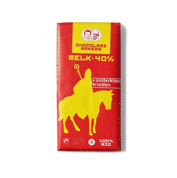 Chocolate Makers - Sinterklaas Kruiden 40% Milk