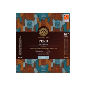 Chocolate Tree, 60% Peru Marañón Milk
