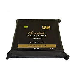 Chocolat Madagascar Organic 70% Couverture 1kg