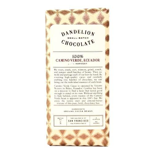 Dandelion - Ecuador Camino Verde 100%