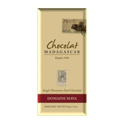 Chocolat Madagascar - Domaine de Mava 85%