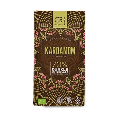 Georgia Ramon - Dark Chocolate with Cardamom