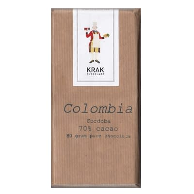 Krak Chocolade - Colombia Cordoba 70% Dark Chocolate