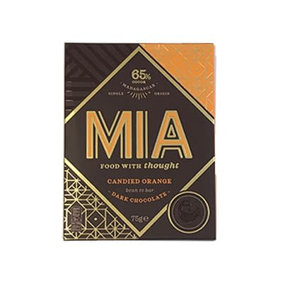 MIA - 65% Dark Chocolate with Orange (Carton of 10)