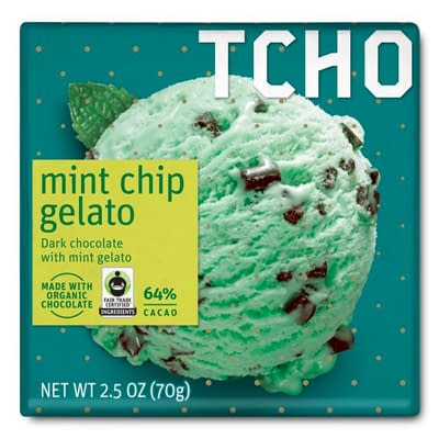 TCHO - Mint Chip Gelato (Carton of 12)