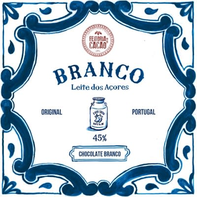 Feitoria do Cacao - White Chocolate with Azores Milk