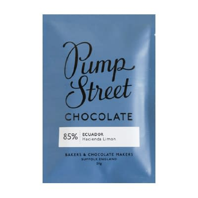 Pump Street Chocolate - Ecuador 85% Taster Bar (Carton of 20)