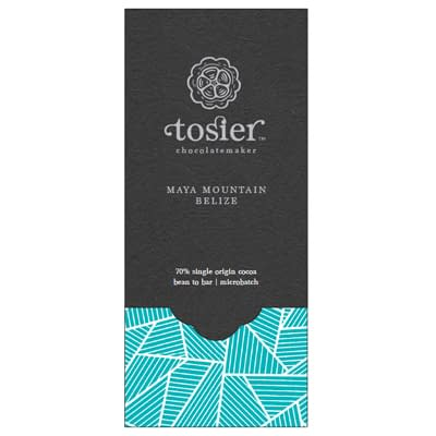 Tosier Chocolate - Maya Mountain, Belize 70% Dark Chocolate