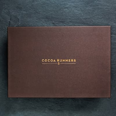 Cocoa Runners Brown Hamper   fits 10-20 full-sized bars