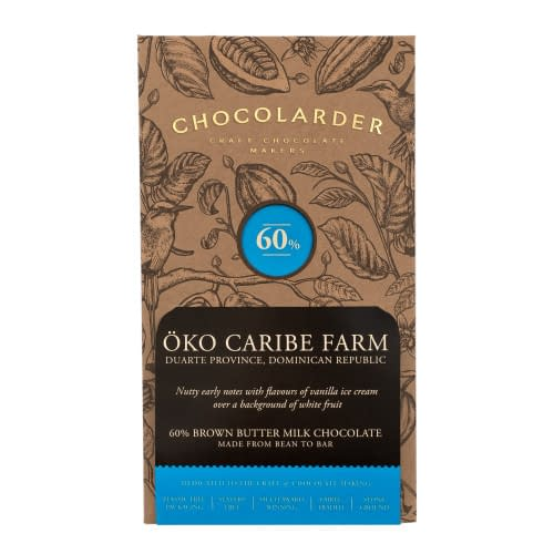 Chocolarder - Oko Caribe, 60% Brown Butter Milk Chocolate