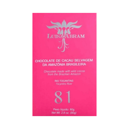 Luisa Abram - Tocantins River 81% Dark Chocolate