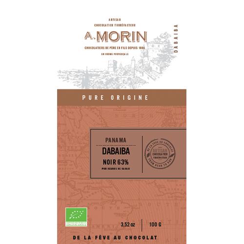 Morin -  Dabaiba, Panama 63% Dark Chocolate