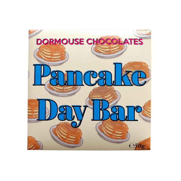 Dormouse - Pancake Day Milk and White Chocolate Bar