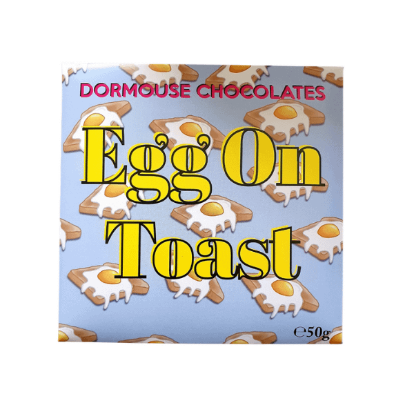 "Dormouse - ""Eggs on Toast"" Milk and White Chocolate"